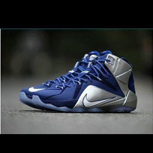 Nike Lebron XII What If?Dallas Cowboys sz 8